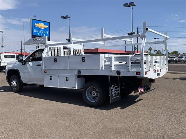 2021 Chevrolet Silverado 3500 Regular Cab 4x4, Knapheide Contractor Body #MF212022 - photo 1