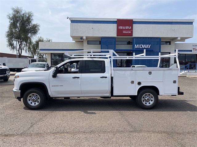 2021 Chevrolet Silverado 3500 Crew Cab 4x2, Harbor TradeMaster Service Body #MF220601 - photo 3