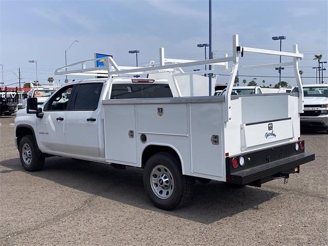 2021 Chevrolet Silverado 3500 Crew Cab 4x2, Harbor TradeMaster Service Body #MF220601 - photo 4