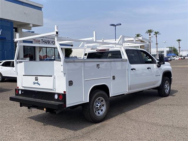 2021 Chevrolet Silverado 3500 Crew Cab 4x2, Harbor TradeMaster Service Body #MF220601 - photo 6