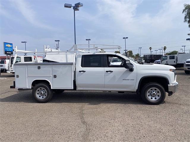 2021 Chevrolet Silverado 3500 Crew Cab 4x2, Harbor TradeMaster Service Body #MF220601 - photo 7
