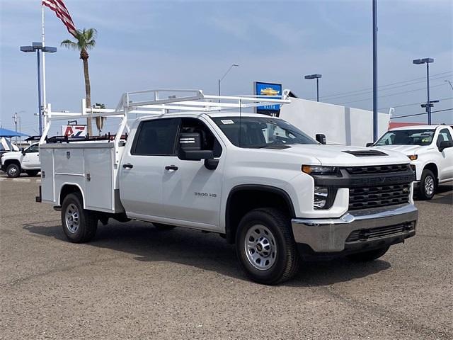 2021 Chevrolet Silverado 3500 Crew Cab 4x2, Harbor TradeMaster Service Body #MF220601 - photo 8