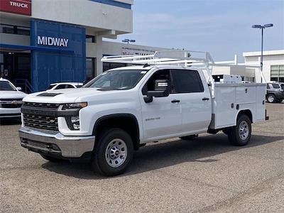 2021 Chevrolet Silverado 3500 Crew Cab 4x2, Harbor TradeMaster Service Body #MF220601 - photo 2