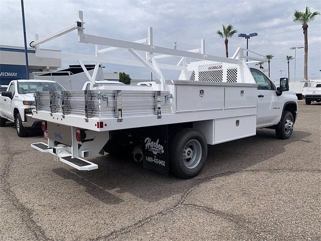 2021 Chevrolet Silverado 3500 Regular Cab 4x4, Harbor Standard Contractor Body #MF245834 - photo 7