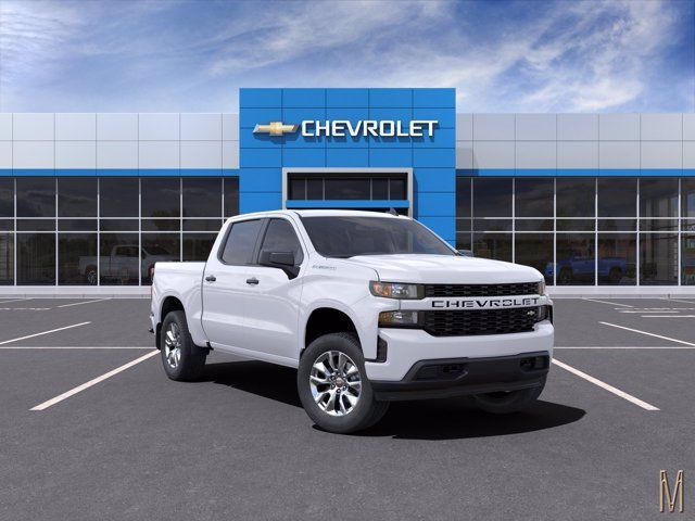 2021 Chevrolet Silverado 1500 Crew Cab 4x2, Pickup #MG125406 - photo 1