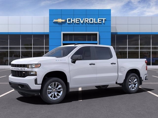 2021 Chevrolet Silverado 1500 Crew Cab 4x2, Pickup #MG125406 - photo 3