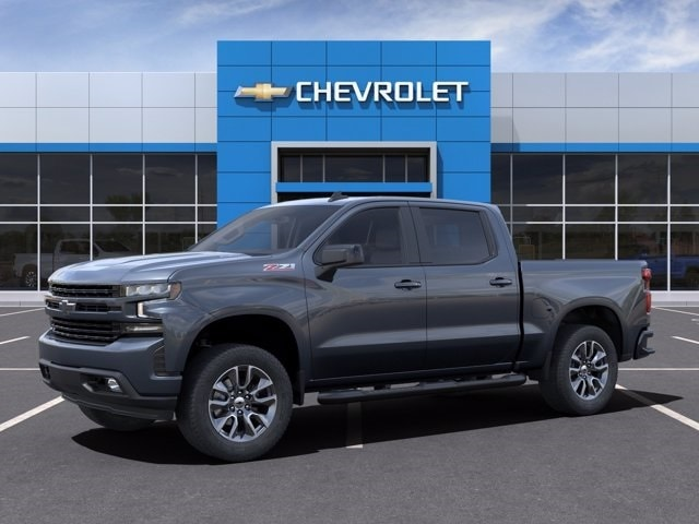 2021 Chevrolet Silverado 1500 Crew Cab 4x4, Pickup #MG139059 - photo 3