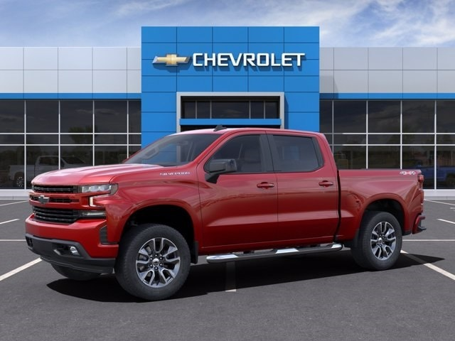 2021 Chevrolet Silverado 1500 Crew Cab 4x4, Pickup #MG149393 - photo 3