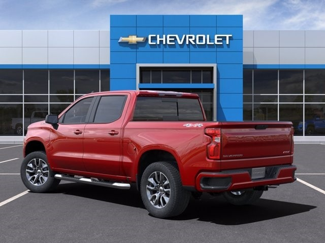 2021 Chevrolet Silverado 1500 Crew Cab 4x4, Pickup #MG149393 - photo 4