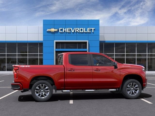 2021 Chevrolet Silverado 1500 Crew Cab 4x4, Pickup #MG149393 - photo 5