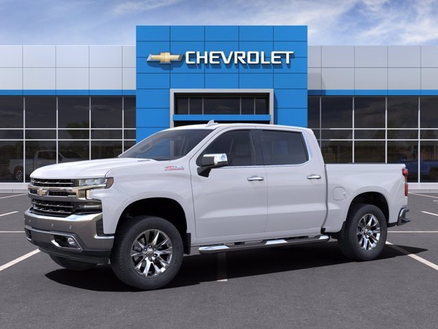 2021 Chevrolet Silverado 1500 Crew Cab 4x4, Pickup #MG152698 - photo 3