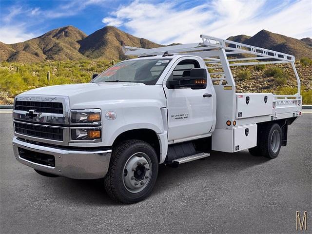 2021 Chevrolet Silverado 4500 Regular Cab DRW 4x2, Freedom Contractor Body #MH597173 - photo 1
