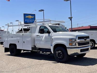 2021 Chevrolet Silverado 5500 Regular Cab DRW 4x2, Scelzi Signature Service Body #MH614328 - photo 8