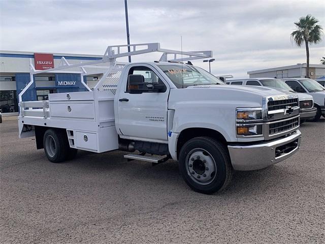 2021 Chevrolet Silverado 4500 Regular Cab DRW 4x2, RhinoPro Truck Outfitters Contractor Body #MH619941 - photo 5