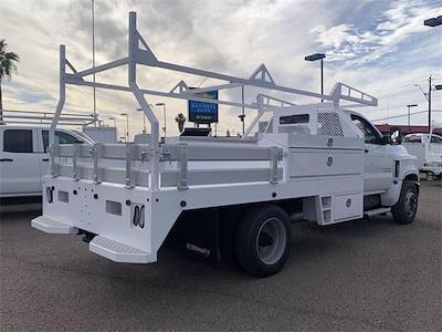 2021 Chevrolet Silverado 4500 Regular Cab DRW 4x2, RhinoPro Truck Outfitters Contractor Body #MH619941 - photo 7