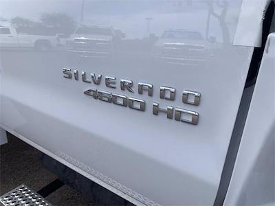 2021 Chevrolet Silverado 4500 Regular Cab DRW 4x2, RhinoPro Truck Outfitters Contractor Body #MH619941 - photo 9
