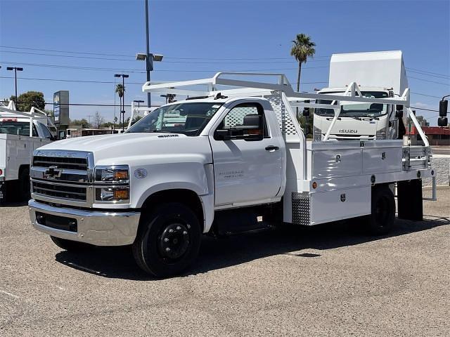 2021 Chevrolet Silverado 4500 Regular Cab DRW 4x2, Scelzi CTFB Contractor Body #MH622239 - photo 3