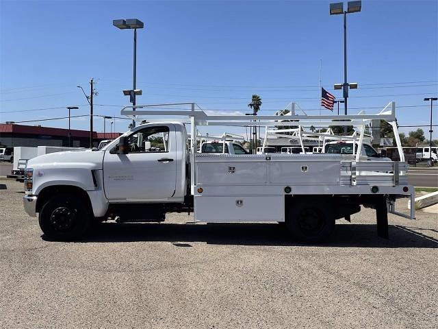 2021 Chevrolet Silverado 4500 Regular Cab DRW 4x2, Scelzi CTFB Contractor Body #MH622239 - photo 4
