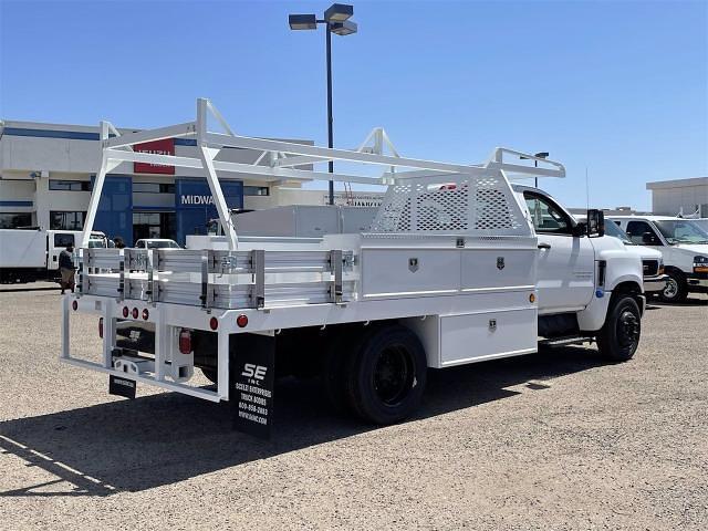 2021 Chevrolet Silverado 4500 Regular Cab DRW 4x2, Scelzi CTFB Contractor Body #MH622239 - photo 6