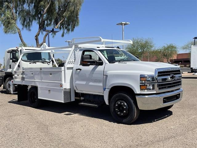 2021 Chevrolet Silverado 4500 Regular Cab DRW 4x2, Scelzi CTFB Contractor Body #MH622239 - photo 8