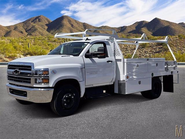 2021 Chevrolet Silverado 4500 Regular Cab DRW 4x2, Scelzi Contractor Body #MH622239 - photo 1