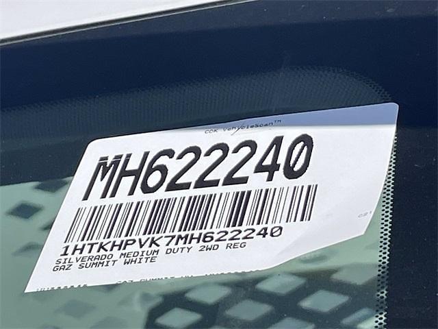 2021 Chevrolet Silverado 4500 Regular Cab DRW 4x2, Scelzi CTFB Contractor Body #MH622240 - photo 24