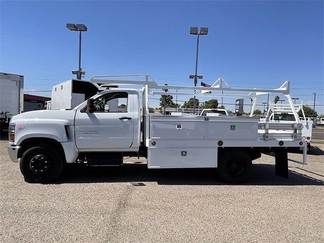 2021 Chevrolet Silverado 4500 Regular Cab DRW 4x2, Scelzi CTFB Contractor Body #MH622240 - photo 4