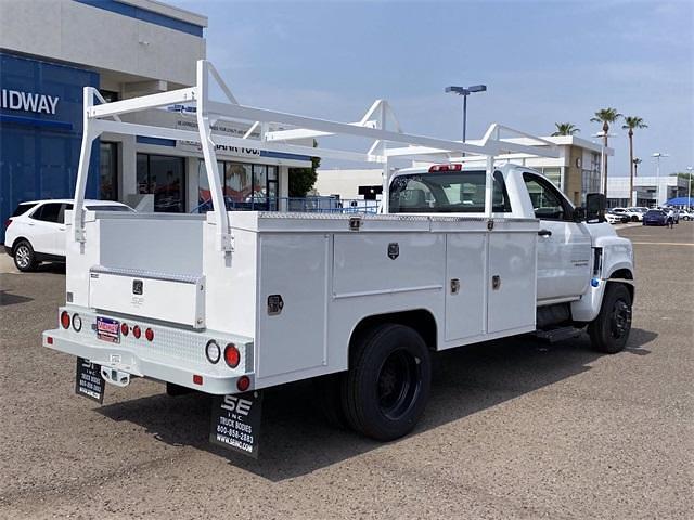 2021 Chevrolet Silverado 4500 Regular Cab DRW 4x2, Scelzi Signature Service Body #MH630924 - photo 6