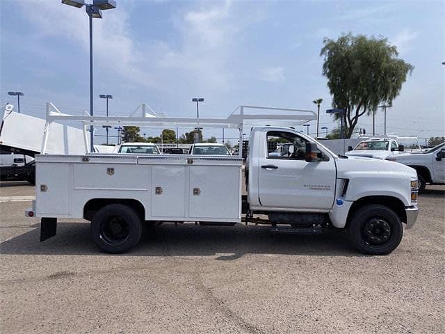2021 Chevrolet Silverado 4500 Regular Cab DRW 4x2, Scelzi Signature Service Body #MH630924 - photo 7