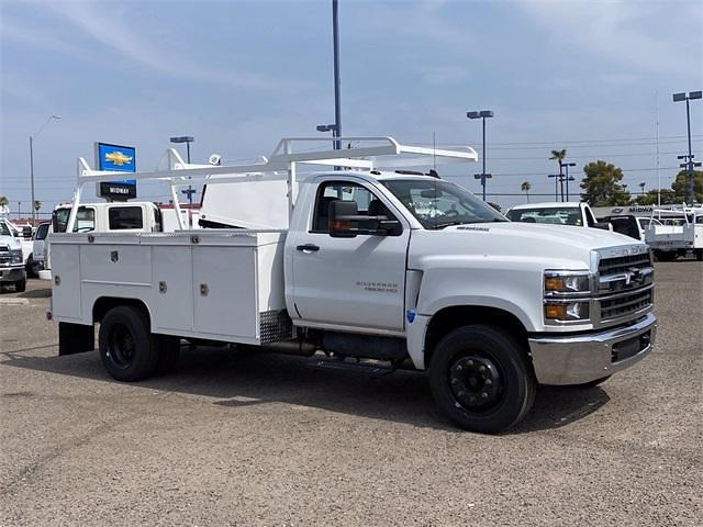 2021 Chevrolet Silverado 4500 Regular Cab DRW 4x2, Scelzi Signature Service Body #MH630924 - photo 8