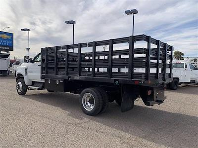 2021 Chevrolet Silverado 4500 Regular Cab DRW 4x4, CM Truck Beds PL Model Stake Bed #MH648838 - photo 2