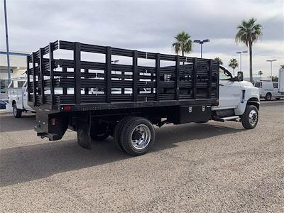 2021 Chevrolet Silverado 4500 Regular Cab DRW 4x4, CM Truck Beds PL Model Stake Bed #MH648838 - photo 7