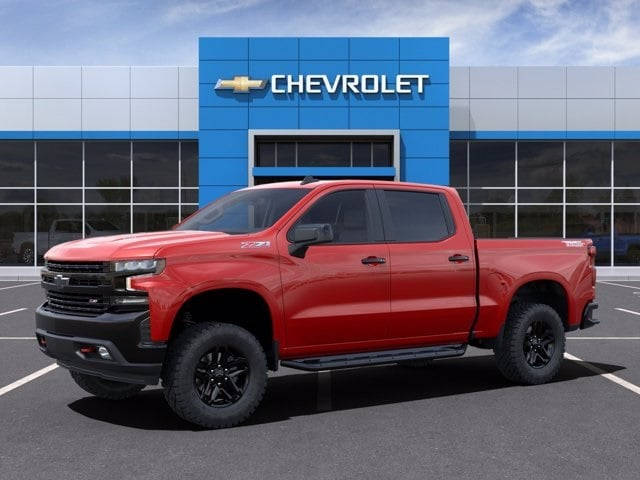 2021 Chevrolet Silverado 1500 Crew Cab 4x4, Pickup #MZ118512 - photo 3