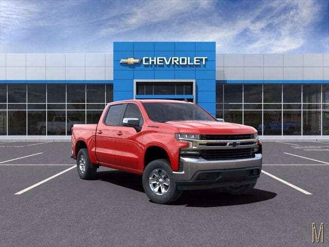 2021 Chevrolet Silverado 1500 Crew Cab 4x2, Pickup #MZ126306 - photo 1