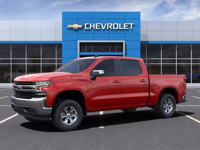 2021 Chevrolet Silverado 1500 Crew Cab 4x2, Pickup #MZ126306 - photo 3