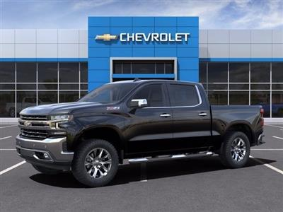 2021 Chevrolet Silverado 1500 Crew Cab 4x4, Pickup #MZ137181 - photo 3