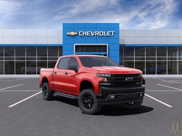 2021 Chevrolet Silverado 1500 Crew Cab 4x4, Pickup #MZ139190 - photo 1