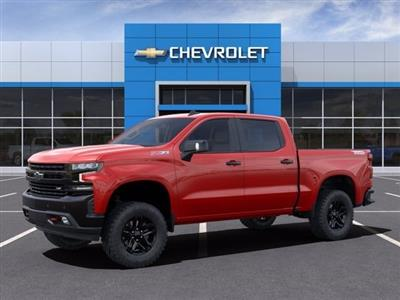2021 Chevrolet Silverado 1500 Crew Cab 4x4, Pickup #MZ154033 - photo 3