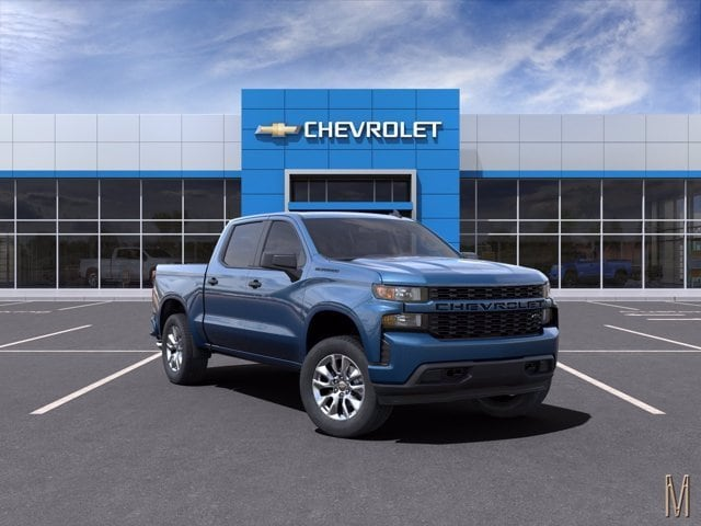 2021 Chevrolet Silverado 1500 Crew Cab 4x2, Pickup #MZ160254 - photo 1
