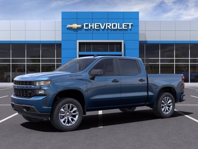 2021 Chevrolet Silverado 1500 Crew Cab 4x2, Pickup #MZ160254 - photo 3
