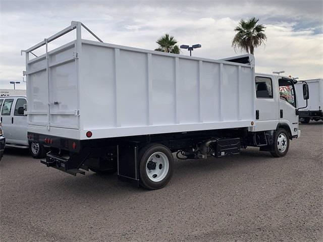 2022 Isuzu NQR Crew Cab 4x2, Sun Country Truck Landscape Dump #N7900092 - photo 6