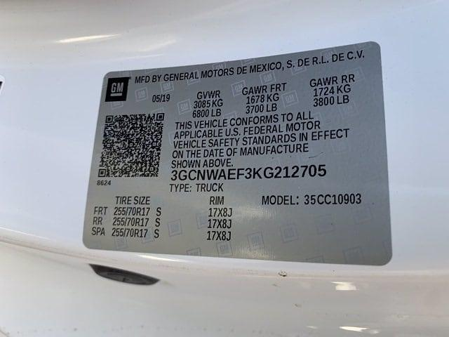 2019 Chevrolet Silverado 1500 Regular Cab 4x2, Pickup #P20759 - photo 8