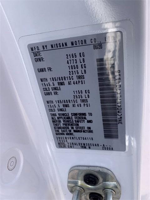 2020 Nissan NV200 FWD, Empty Cargo Van #SC710287 - photo 23