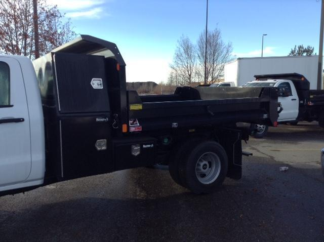 2015 Silverado 3500 Regular Cab 4x4, Monroe Dump Body #FF654814 - photo 2