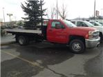 2016 Silverado 3500 Regular Cab 4x4, Monroe Platform Body #GF128447 - photo 1