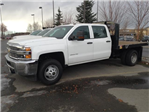 2016 Silverado 3500 Crew Cab 4x4 Platform Body #GF281302 - photo 1