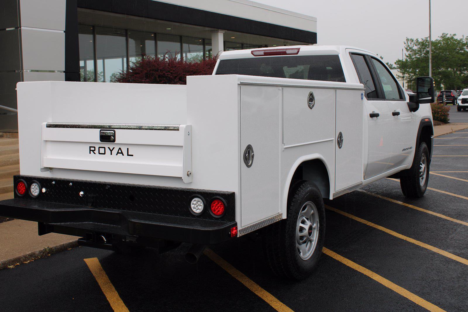 2021 GMC Sierra 2500 Double Cab 4x4, Royal Truck Body Service Body #P21-1009 - photo 1