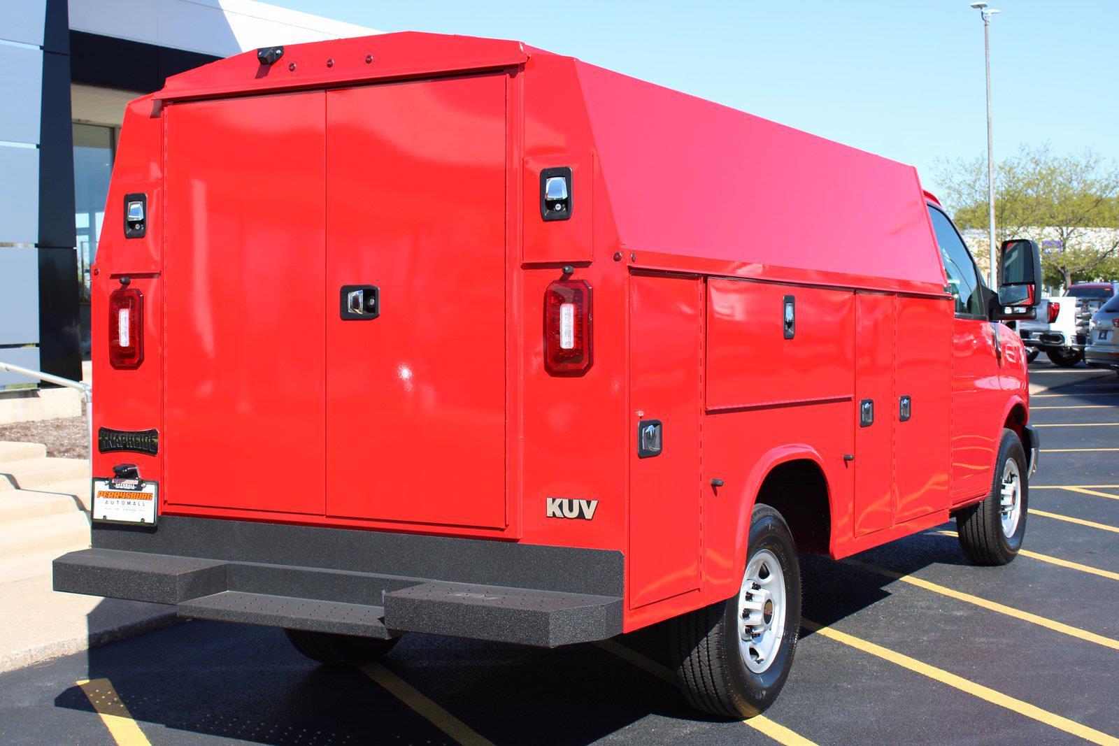 2021 GMC Savana 3500 4x2, Knapheide Service Utility Van #P21-958 - photo 1