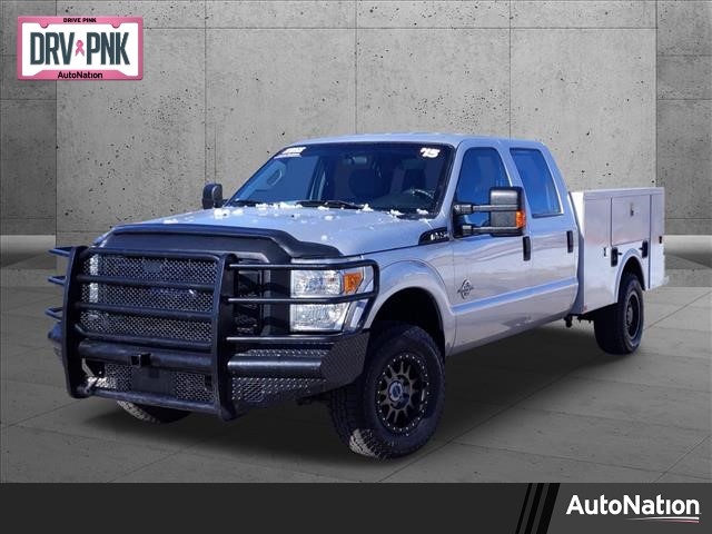 2015 Ford F-250 Crew Cab 4x4, Service Body #FEA59911 - photo 1