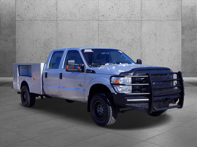 2015 Ford F-250 Crew Cab 4x4, Service Body #FEA59911 - photo 4